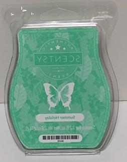 Summer Holiday Scentsy Bar Wickless Candle Tart Wax 3.2 Fl O