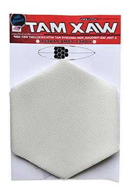 SurfCo - Wax Mat Honeycomb Kit, no Mess Surfboard Wax Altern
