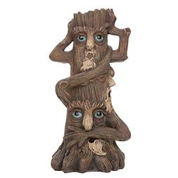 """Hosley 12"""" High Tree Man Incense Holder. Ideal for Aromather"""