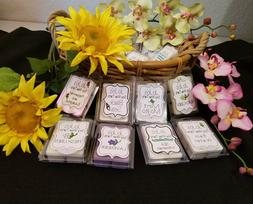 TRIPLE SCENTED! SOY WAX MELTS/TARTS, BUY 5 GET 2 FREE!!