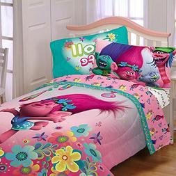 Trolls Twin Kids Comforter, Sheets & BONUS SHAM J  + HOMEMAD