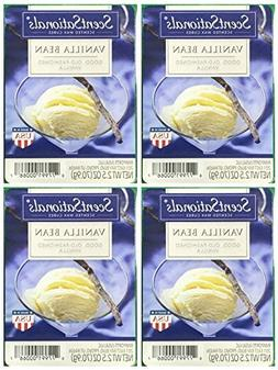 ScentSationals Vanilla Bean Scented Wax Cubes - 4-Pack