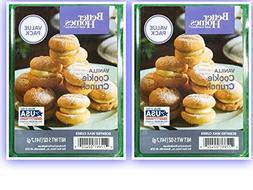 vanilla cookie crunch wax cubes