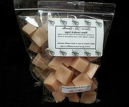 WARM VANILLA SUGAR Scented Tart Wax Melts Chunks Chips Home