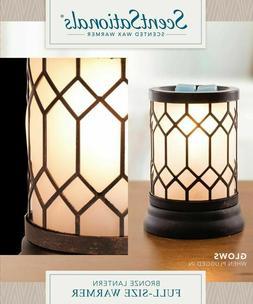 ScentSationals Warmer, Bronze Lantern