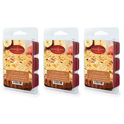 CANDLE WARMERS ETC. 2.5 oz Wax Melt 3-Pack, Hot Apple Pie