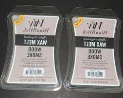 Woodwick Wax Melt 3 Oz. - Wood Smoke