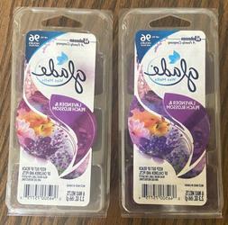 wax melt lavender and peach blossom 2