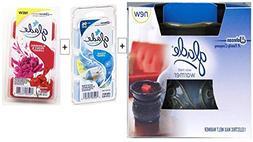 Bundle - Glade Wax Melt Electric Warmer Decorative Wax Melt