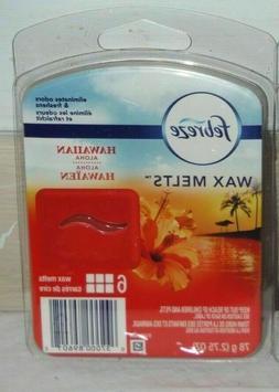 Febreze WAX MELTS Air Freshener with Hawaiian Aloha 6 wax me