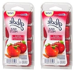 Glade Wax Melts Apple Cinnamon 8 ct.  by Glade