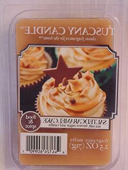 Salted Caramel Cake Tuscany Candle Fragrance Wax Melts 2.5 o