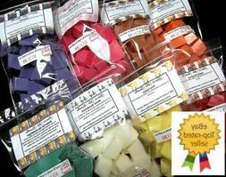 Wax Melts Chunks Chips Tarts 400 pc Bulk Wholesale Home Frag