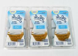 Glade Wax Melts Clean Linen Clamshell 8 / Pack 3.1oz