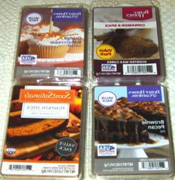 Wax Melts Cubes Lot Pumpkin Bread Brownie Pecan Orange Cupca