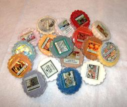 Yankee Candle Wax Tart Melts, Assorted Scents, You Pick, NEW