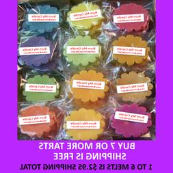 WAX TARTS SINGLES BUY 7 OR MORE GET FREE SHIPPING Wax Melt H