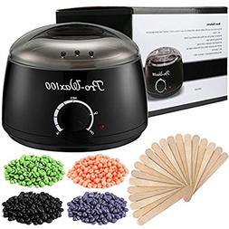 Wax Warmer, ESARORA Hair Removal Waxing Kit Electric Hot Wax