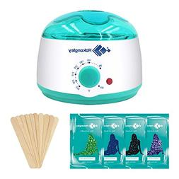 Wax Warmer, Hair Removal Waxing Kit, Electric Wax Heater wit