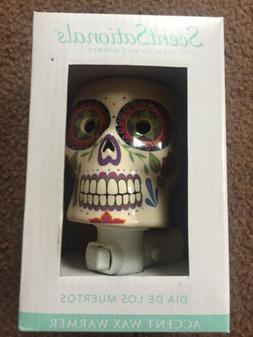 scentsationals wax warmer Sugar Skull Day Of The Dead New In