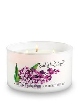 Bath and Body Works White Barn 3 Wick Low Profile Scented Ca