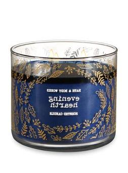 Bath and Body Works White Barn Evening Hearth 3 Wick Candle