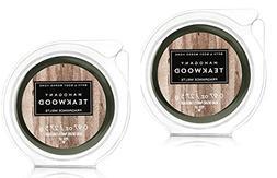 3 Pack Bath /& Body Works White Barn Mahogany Balsam Fragrance Wax Melts 0.97oz