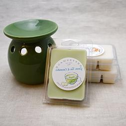 White Tea, Green Tea, and Three Wishes Tea 3pk Scented Wax M