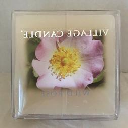 Village Candle Wild Rose Wax Melt Simmer Blends Scented Tart