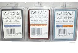 ChicWick Candles 3Pack Wild West Trio Soy Blend Wax Melts, B