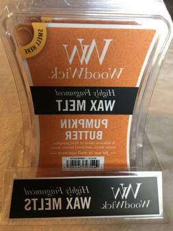 Wood Wick Pumpkin Butter Wax Melts By Yankee Candle Lot Of 2