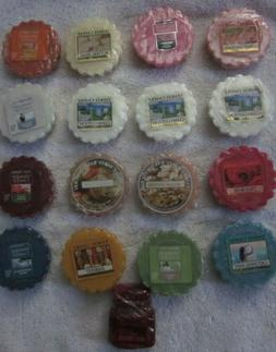 Yankee Candle, Wrapped Wax Melt Tarts, Various Scent's  ~ $1